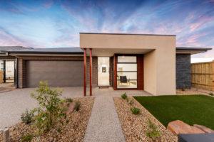 Facade view of The Edge home design