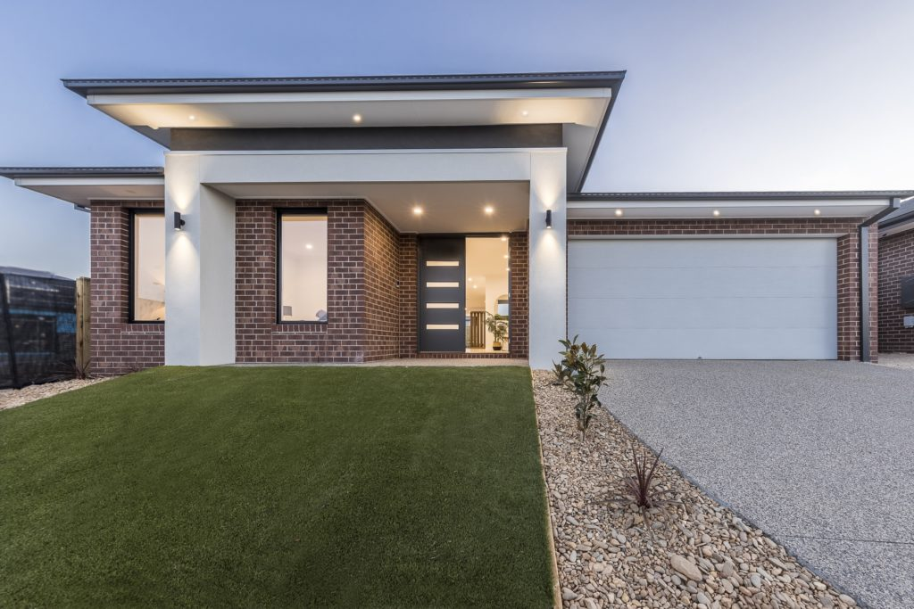 Facade view for The Torquay Home Design