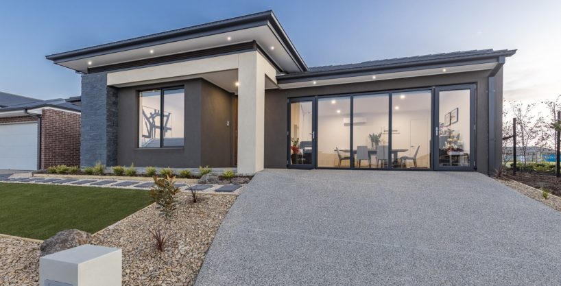 Facade view for The Anglesea home design