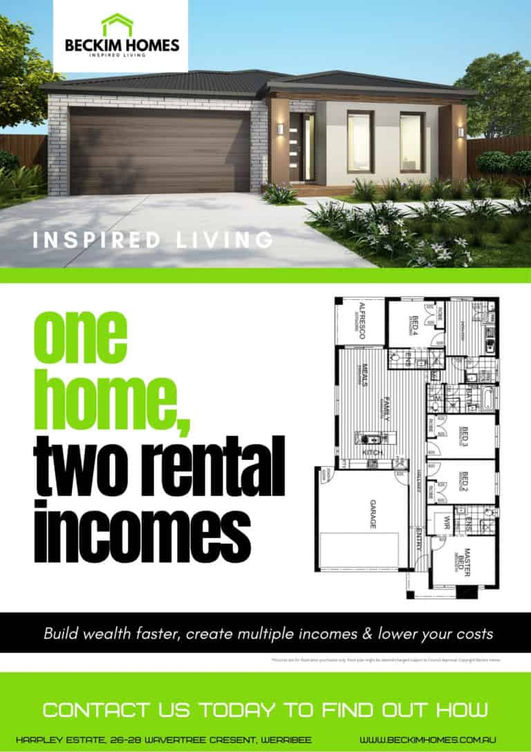 House and land Package Brochure - Rental Incomes